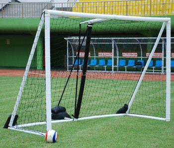 Official size with soccer net goal 6MX2.1M inflatable soccer goal with shooting target