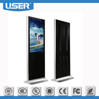 42 inch indoor standing all in one touchscreen computer