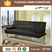 Fabric Promotion folding sofa bed / sofa cum bed
