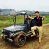 2 person golf cart jeep car with CE 200cc jeep mini off-road vehicle