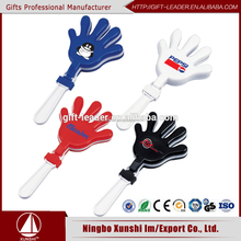 Plastic hand clapper football game noise makers