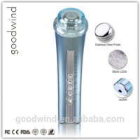 Private label accepted handheld vibrating electric wrinkle remover machine bio Face lifting photon beauty machine