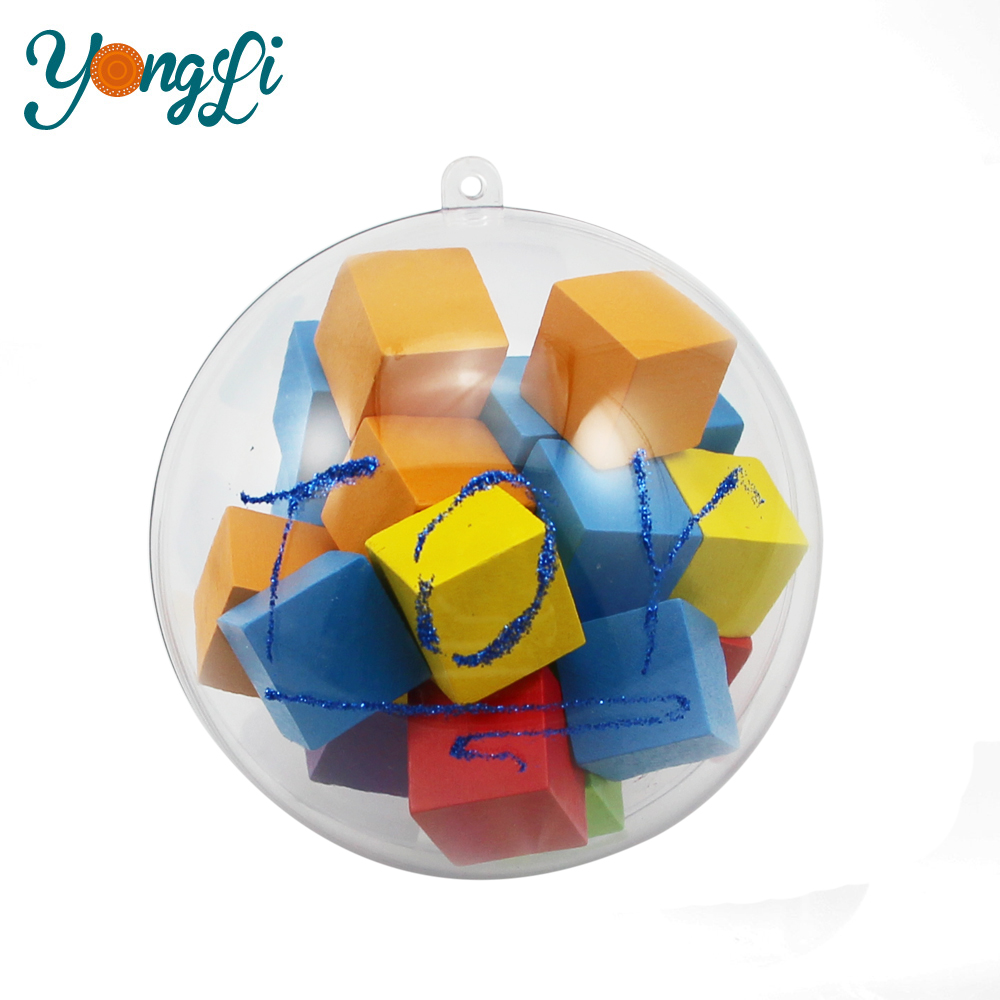 Toy Packing Gift for 10cm Empty Plastic Ball