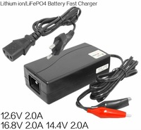 Top sell and quality bi-color indicator Electric Bike 14.6V 2A Lithium ion li-ion battery charger