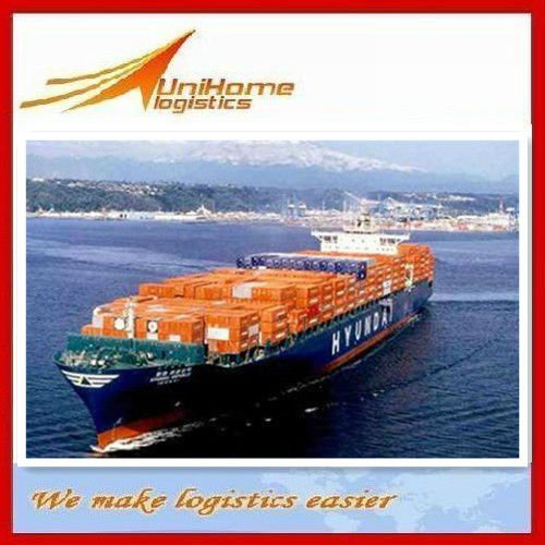 Quick international container ocean sea freight container shipping service to Basra