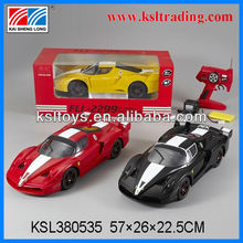 5ch 1:10 rc car toy with light for children