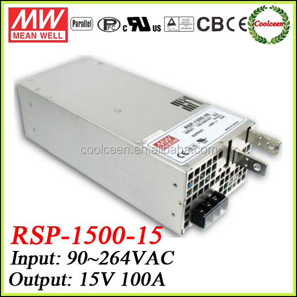 Meanwell RSP-1500-15 adjustable dc power supply