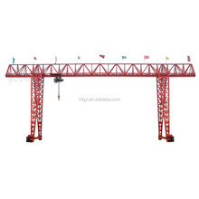 ground travelling heavy duty winch crab gantry crane 30 ton