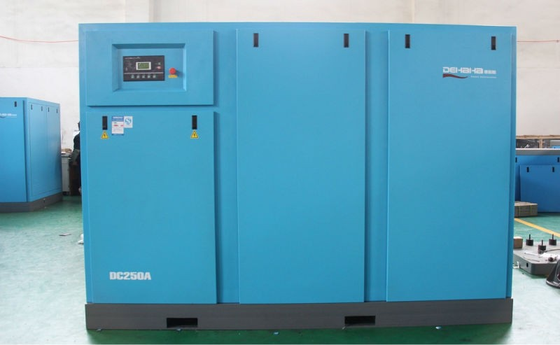 55kw DB75A AC Power Belt Driven Screw Air Compressor by DHH
