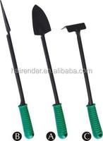 mini garden hand tools kit,promotion plastic hand tool sets