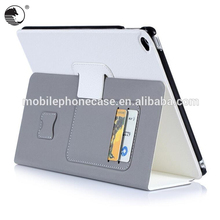 "Wallet Style 9.7"" PU Tablet Cover Supplier For Apple iPad Air 2"