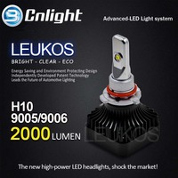 2015 factory Cnlight 2015 new auto,car accessories/spare parts high quality LEUKOS9006 Auto head lamp LED for VW,BMW