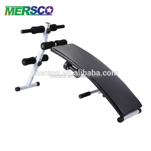 MSG Incline Sit Up Bench Crunch Board AB Abdominal Machines Fitness Weight Exercise