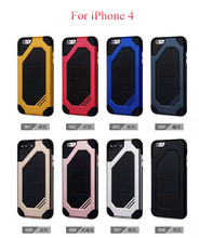 SUD Low Price Hybrid TPU PC Armor Cell Phone Case For iPhone 4 4s Protective Cover Case