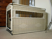 2016 home and garden wicker rattan dog furniture and rattan pet cages