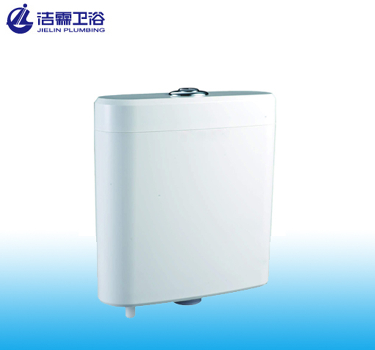 High quality T6005 plastic cistern dual button toilet cistern