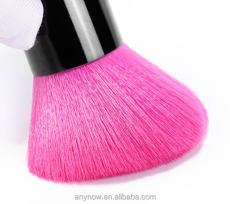 Makeup brushes mini makeup brush double color cheek is red brush