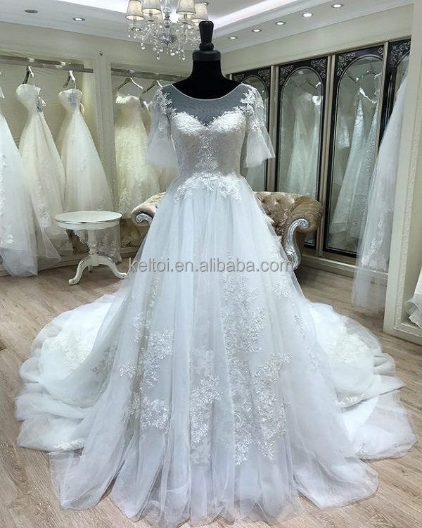 Ivory Lace Short Wedding Dress, Ivory Lace Short Wedding Dress ...