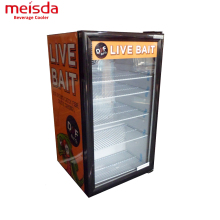 OEM Energy Drink 98L Commercial Horizontal Mini Display Fridge