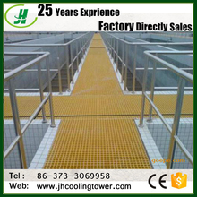 Walkway Floor Mesh Size 38x38mm FRP Grating