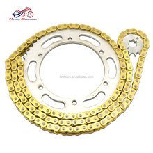 Motorcycle transmission material of chain and sprocket kits KDX125 sprocket and chain