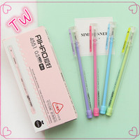 Best Promotion office school stationery wholesale plastic pen gel eco gel ink pen good quality in stock