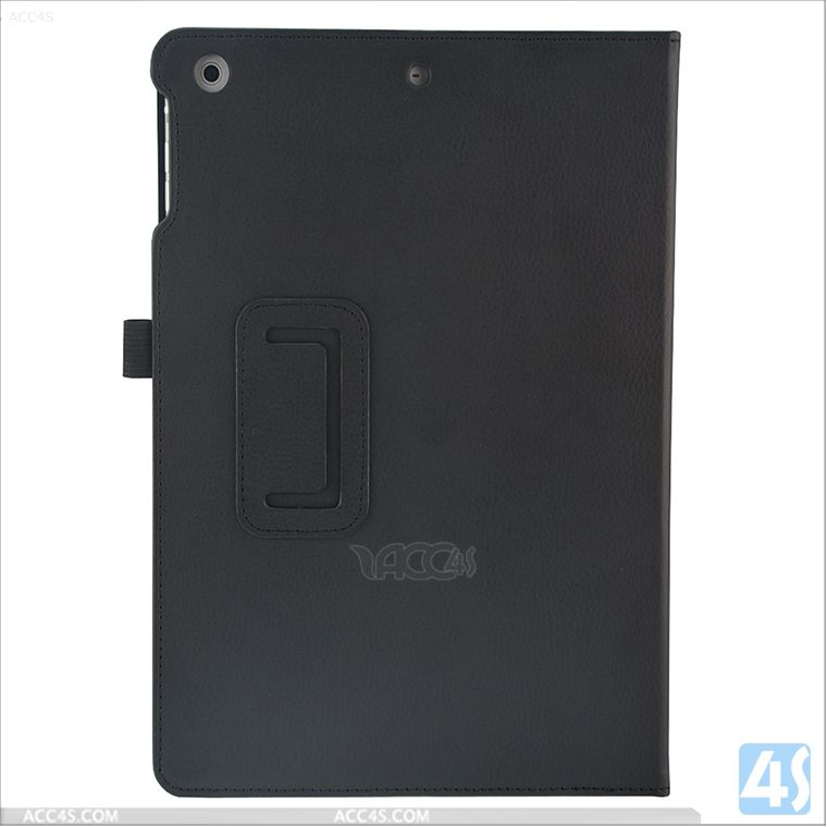 For iPad Air PU Leather Stand Case with hand strap P-IPD5CASE042