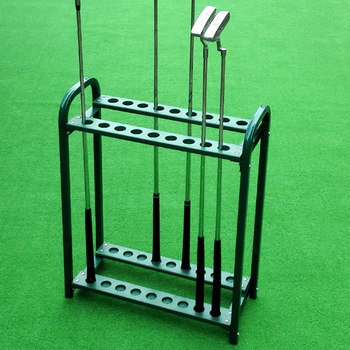 18 High end display golf club holder stand golf club rack