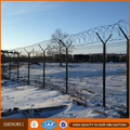 pvc coated airport security fencing