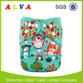 Alvababy Hedgehog Pattern Cloth Diaper Baby Diapers Factory in China