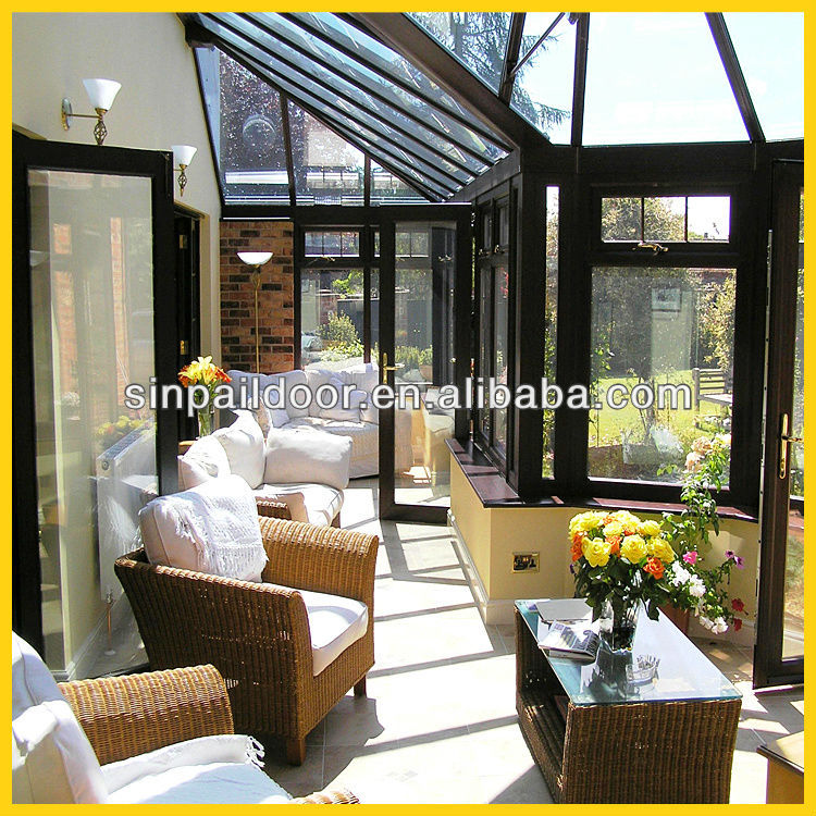 2014 New Design Prefabricated Glass Conservatories Price