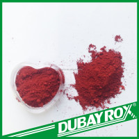 Virgin Iron Oxide Red Pigment Fe2O3 Serves Asphalt & Bitumen