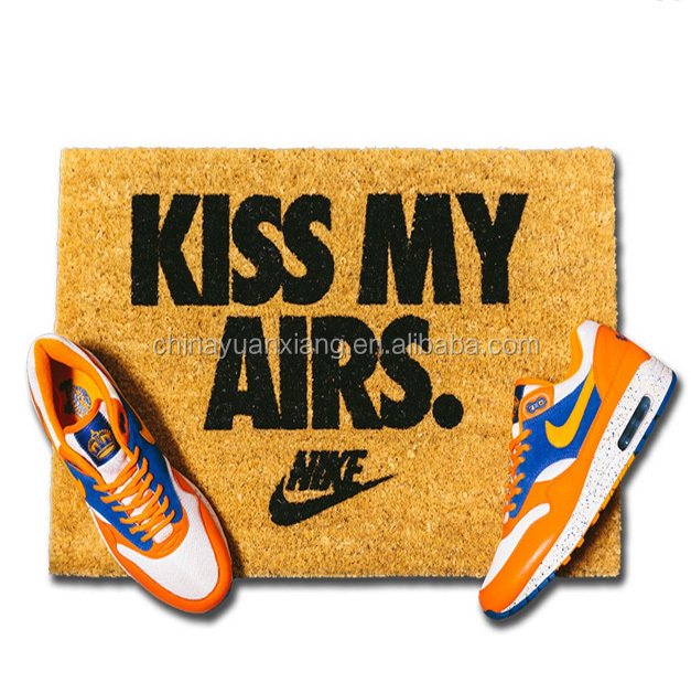 Custom Kiss My Airs Door Mats Doormats
