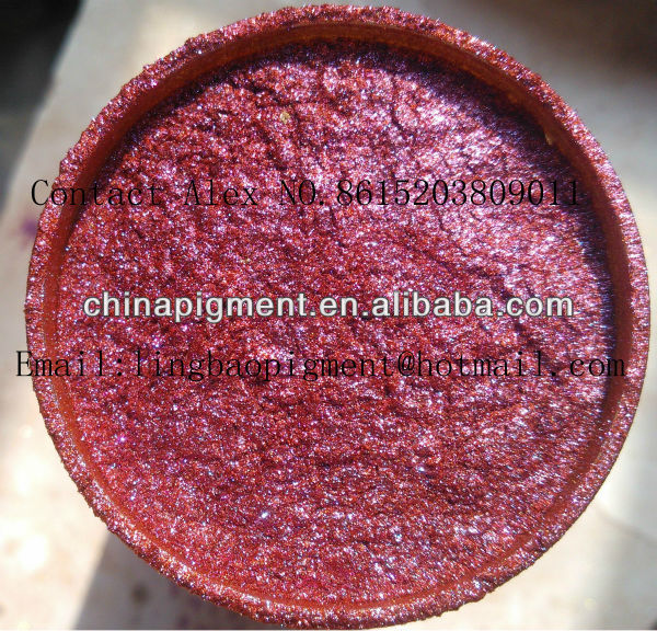 Mica Flakes Based Pearl Pigment(Copper series)