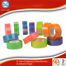 BOPP Self Adhesive Thin Roll Stationery Office Adhesive Tape for Office and School Use