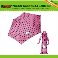 hot sell pocket kids fold up umbrellas