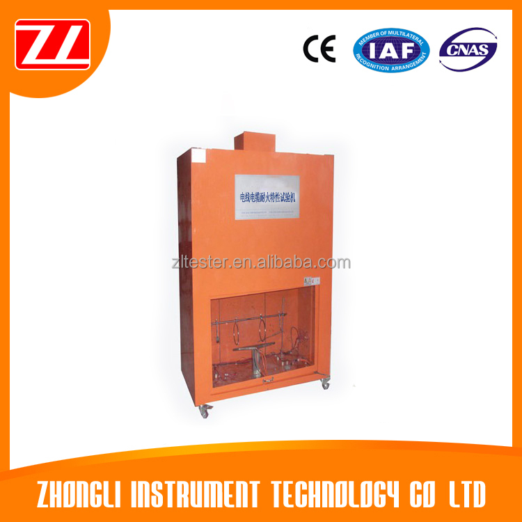 Wire and Cable Fire Resistance Test Chamber