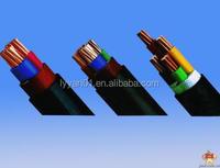 PVC insulation copper core armoured auto control cable