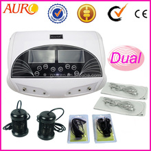 Au-05 electronic best whole body cleanse spa life ion foot detox machine with belt