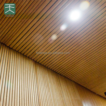 Waterproof And Soundproof Aluminum Gurved Acoustic Panels Ceiling Panel For Office