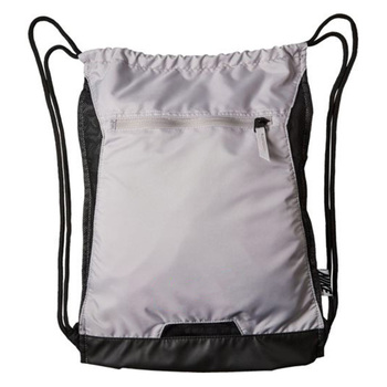 China Supplier Eco Friendly Sports Travel Polyester Drawstring Backpack Bag