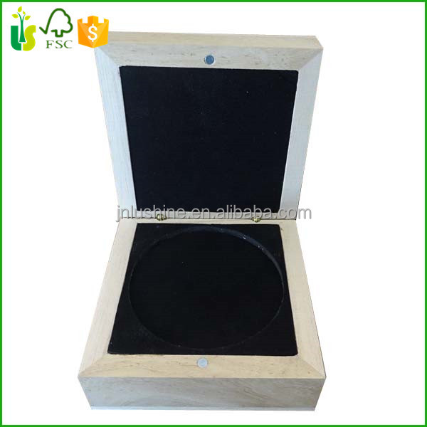 Wholesale Wood CD / DVD Box Wood Coin Display Box