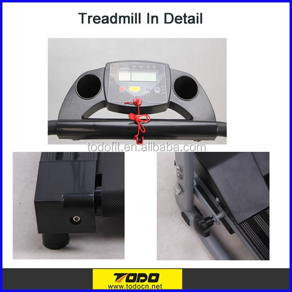 New Arrival Fitness Treadmill with LED/Easy Installment Treadmill/Runing Machine/Gym Equipment