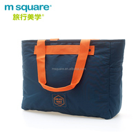 Trendy unisex m square large capacity traveling sling shopping bags with anti-slide function