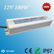 High quality waterproof ip67 12v 100w power supply unit, ac to dc switching power supply adapter for strip module 220v 230v