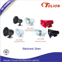 1 2 6Tone Electronic Siren Car