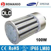 High quality warehouse light Samsung 2835smd 100w corn led light bulb