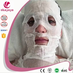 Beauty facail mask Cotton Gauze Facial Mask Facial salon products