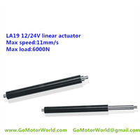 6000N load 11mm/s 2000mm stroke 12/24V linear actuator for table lift,drum lift and industry LA19