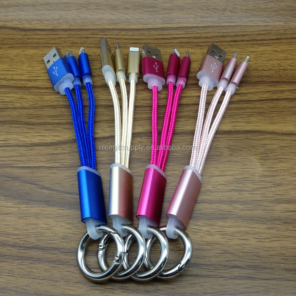 Hot Sell Promotion Gift Metal Head Charging Cable